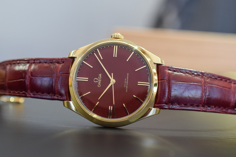 5 New Watches with Red-Hot Dials