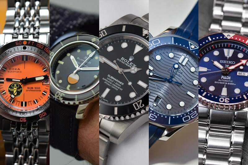 5 of The Most Iconic Dive Watches You Can Buy in 2018