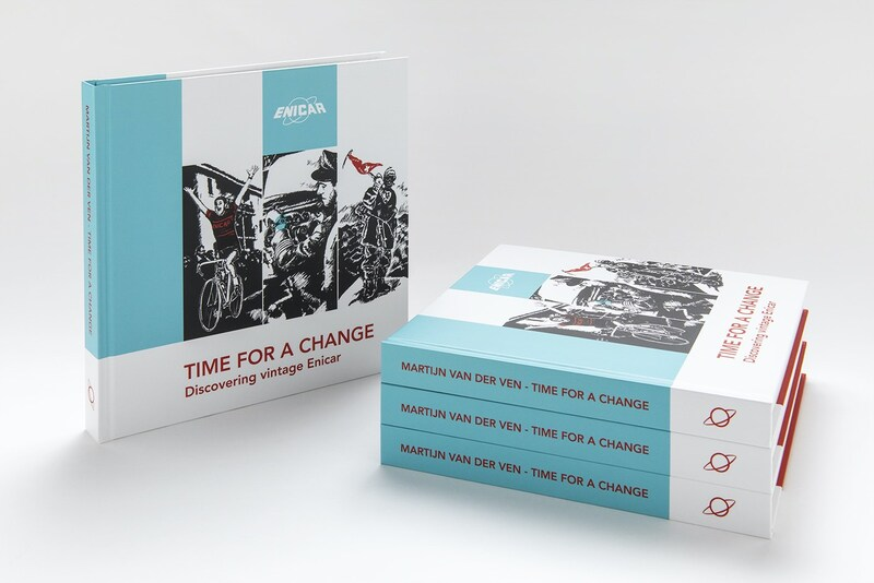 """""""Time For A Change"""", a beautiful book dedicated to Enicar Watches"""