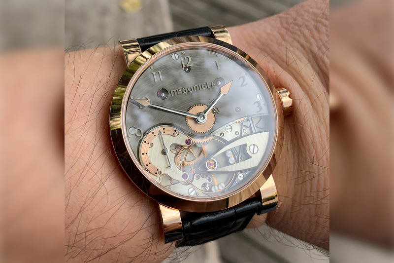 @Watch_Time_It_Is and his McGonigle Tuscar Bánú