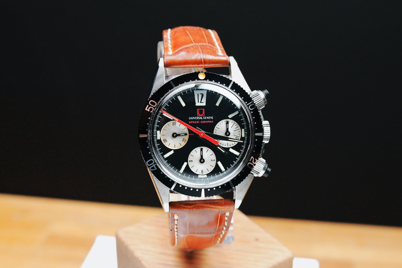 A Beauty of 20th-Century Styling, the Universal Genève Space Compax