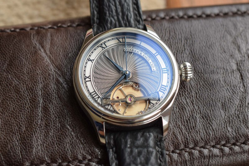 A Closer Look at the British-Made Garrick S2 Central Seconds