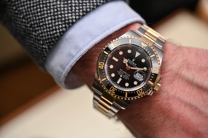 A Personal Take on the Truly Unexpected Rolex Sea-Dweller Rolesor 126603