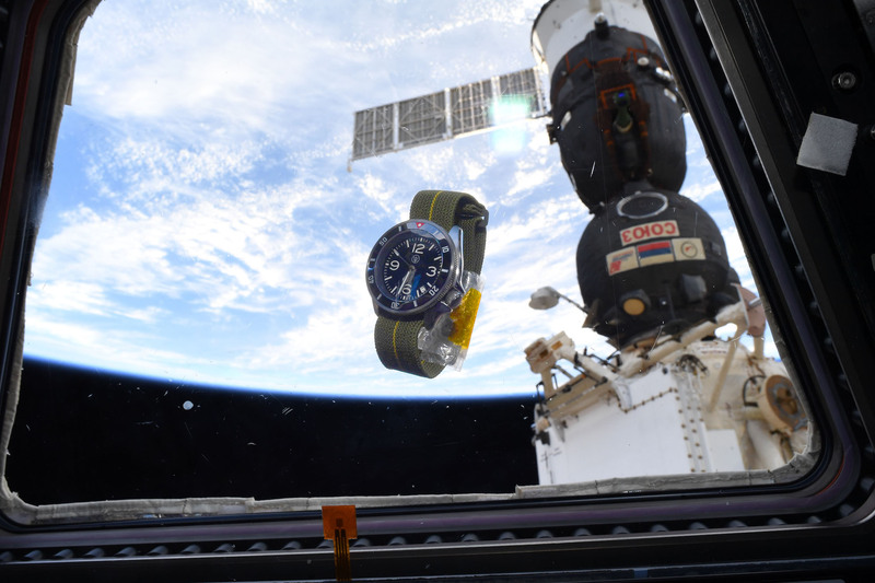 A Space Story – How a Micro-Brand Watch by Dave Sutton and an ErikasOriginals MN Strap Ended Up on the ISS