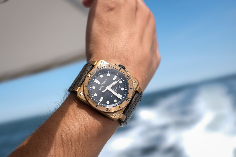 A Summer with The Bell & Ross BR 03-92 Diver Bronze (And Bronze Patina in Action)