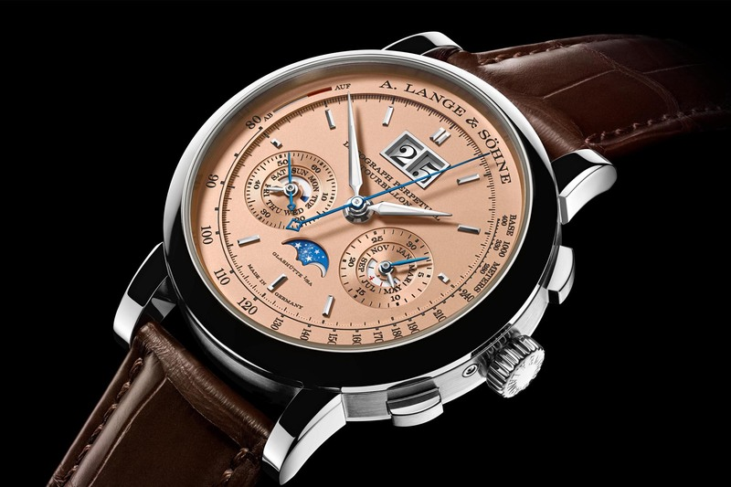 A. Lange & Söhne Datograph Perpetual Tourbillon with Pink Gold Dial