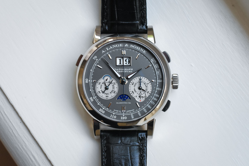 A. Lange & Söhne Datograph Perpetual in White Gold with Grey Dial