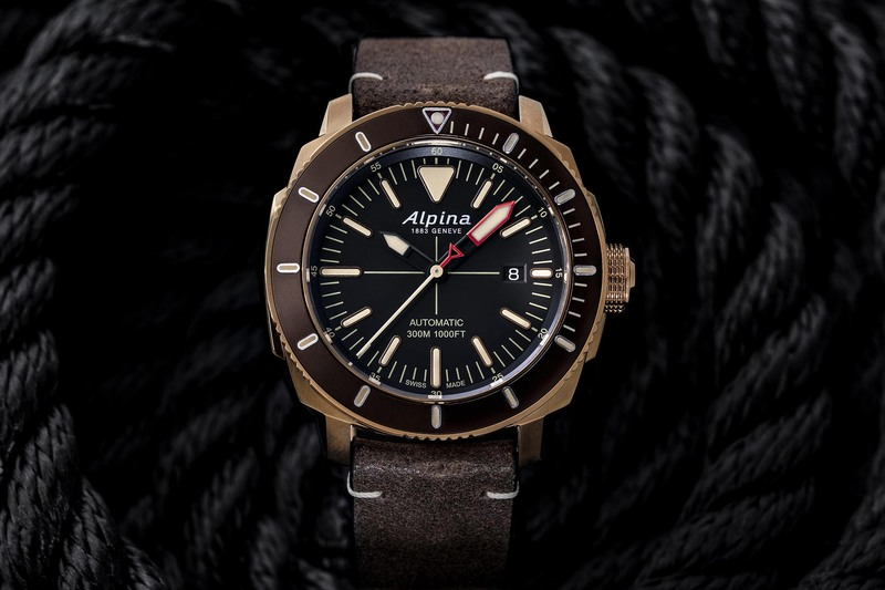 Alpina Extends its Seastrong Diver 300 Automatic Collection with 4 New Models
