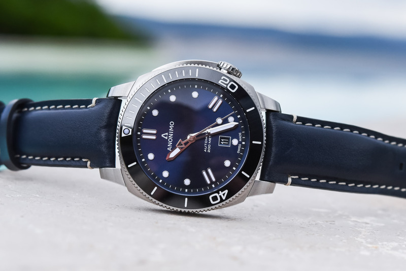 Anonimo Brings New Summer Editions of the Nautilo With Blue Dials