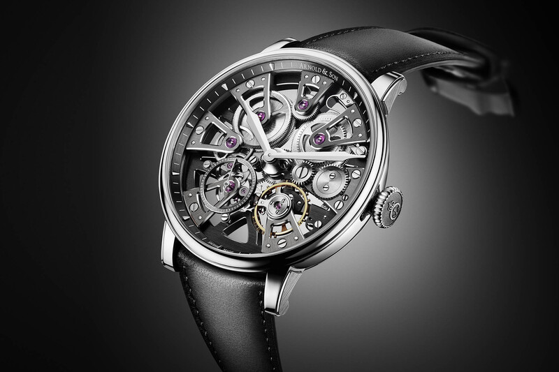 Arnold & Son Nebula 38, now in Stainless Steel