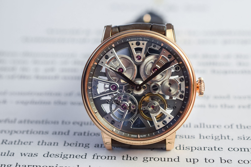 Arnold & Son Nebula 38mm – Smaller Proportions, Same Spectacle