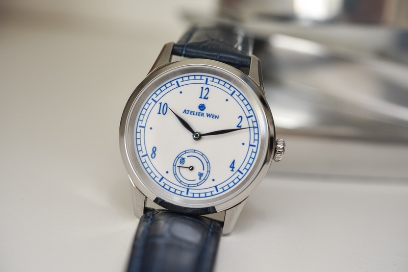 Atelier Wen, Inspired by China, With Porcelain Dials