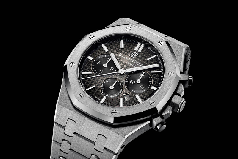 Audemars Piguet Royal Oak Chronograph With Smoked Dial (SIHH 2018)