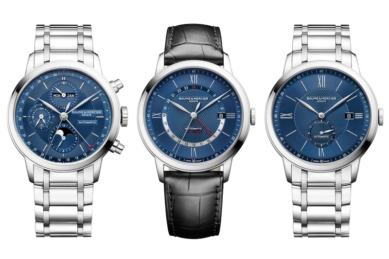 Baume & Mercier Extends the Classima Collection With Three New Complications