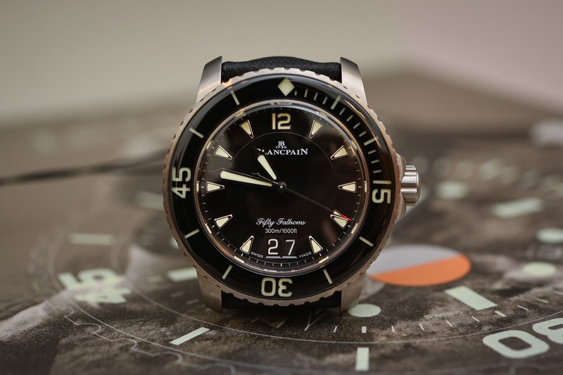 Blancpain Fifty Fathoms Grande Date – with More than Just a Change of Display
