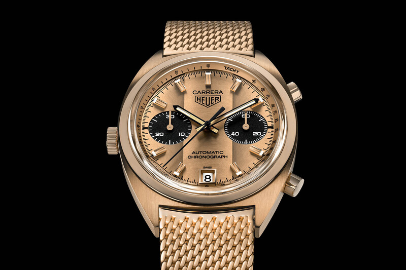 Bonham's and TAG to Offer a Unique Re-Edition of F1 Driver Ronnie Peterson's Gold Heuer Carrera Ref. 1158 CHN