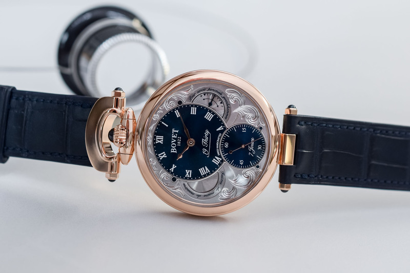 Bovet 19Thirty Fleurier, now in Red Gold with an Ornate Dial