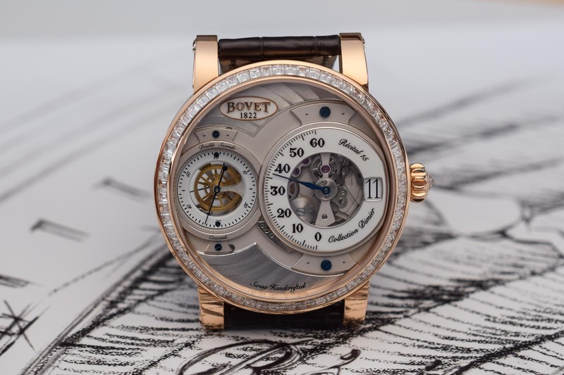 Bovet Dimier Récital 15 – Jumping Hours, Retrograde Minutes and Double Seconds