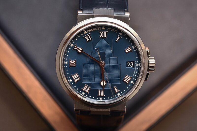 Breguet Partners with the Race for Water Foundation and Unveils A Special Edition Marine Watch