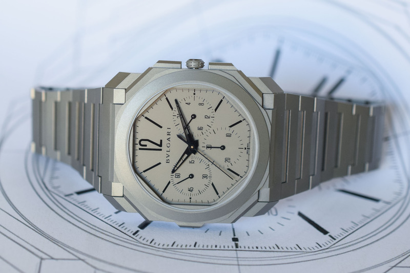 Bvlgari Octo Finissimo Chronograph GMT Automatic – the World's Thinnest Mechanical Chronograph Watch