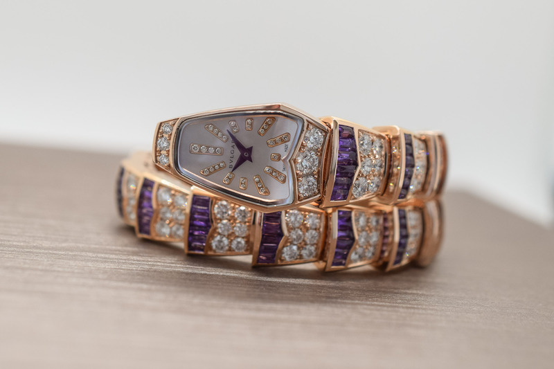 Bvlgari Serpenti Amethyst Capsule Collection: Voluptuous Ultra-Violet Vipers (Live Pics)