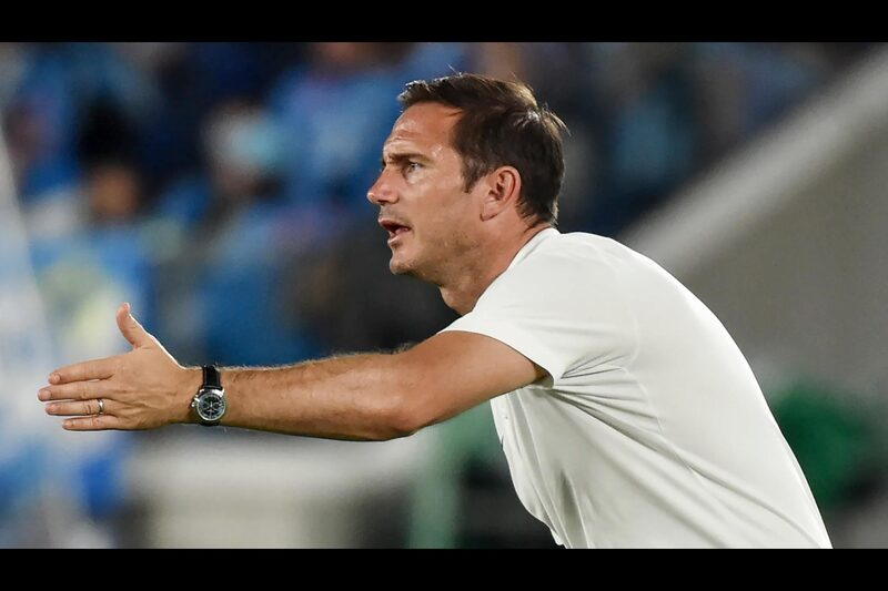 Chelsea FC Manager Frank Lampard, his Patek Philippe watches during pre-season for the 2019/20 English Premier League
