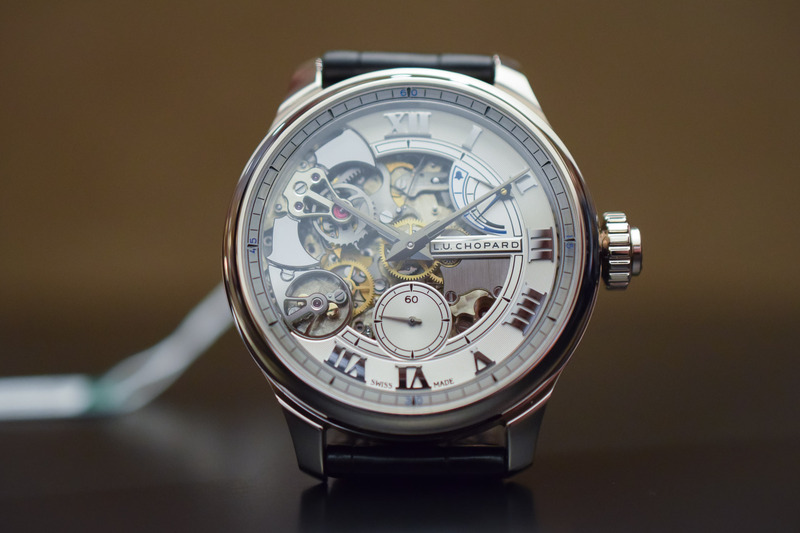 """Chopard L.U.C Full Strike in """"Fairmined"""" White Gold (Crystal Clear and Eco-Friendly)"""