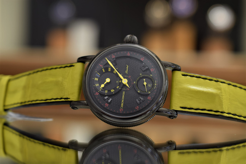Chronoswiss Gives its Flying Grand Regulator a Splash of Colour