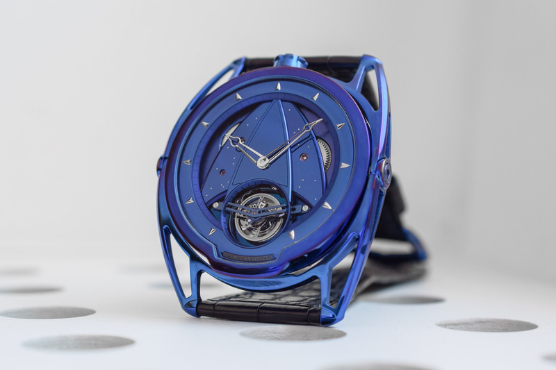 De Bethune DB28T Kind of Blue – a Bolt from the Blue!