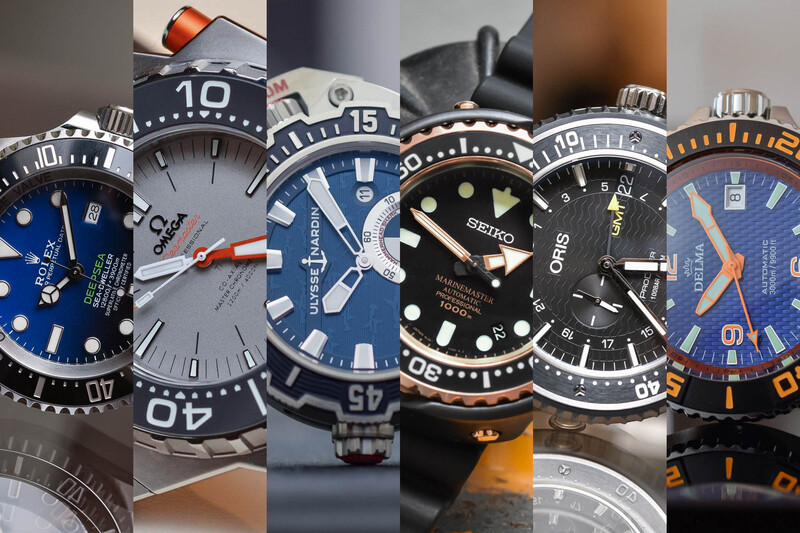 Deep Divers – Dive Watches that go 1000m and beyond