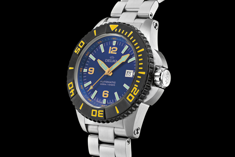 Delma Blue Shark III, Now With 4,000m Water-Resistant Case