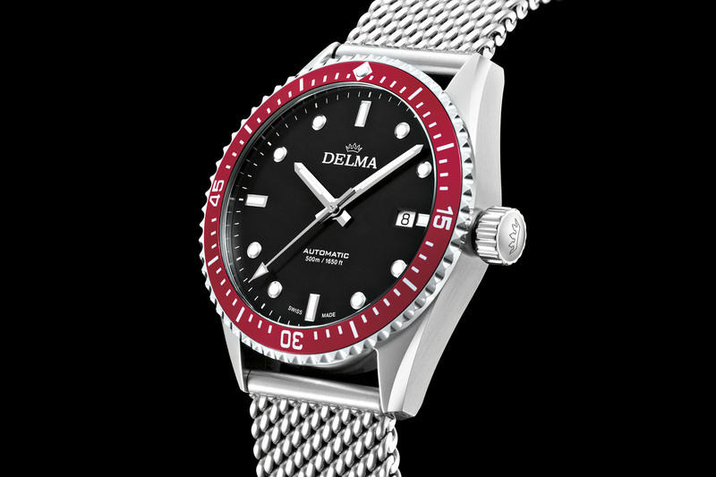 Delma Cayman Automatic – an Affordable, Retro-Styled 500m Diver