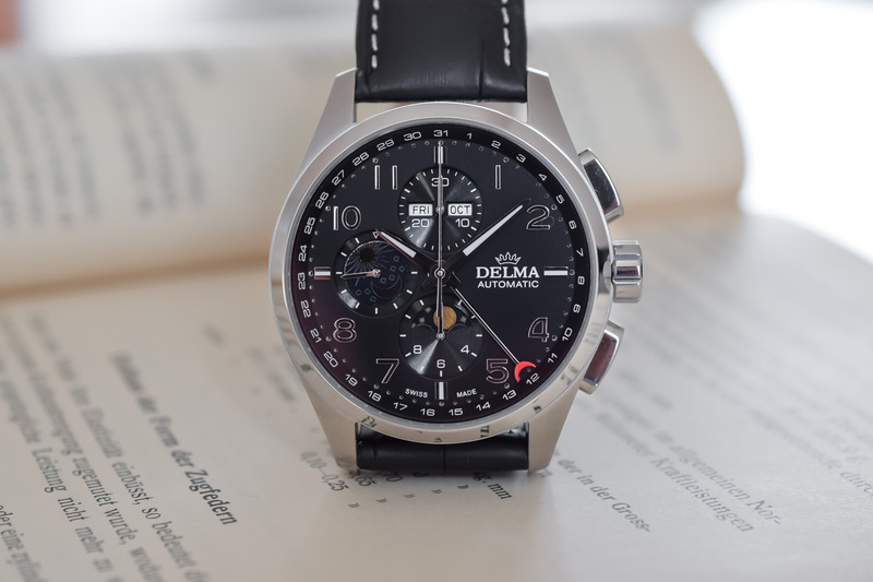 Delma Klondike Moonphase Automatic Chronograph – Resilient and Complicated