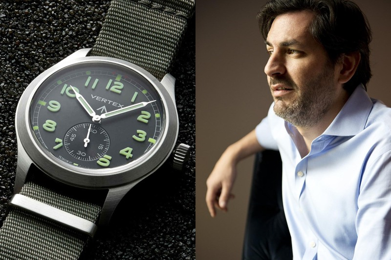 Don Cochrane, Founder of VERTEX, On How To Re-Build a Brand and What's Next for Vertex Watches