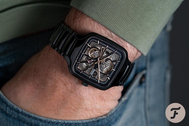 Experiencing The Rado True Square Automatic Open Heart From Up Close