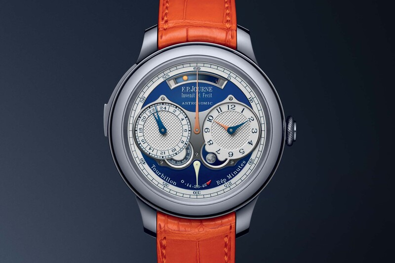 F.P. Journe Astronomic Blue – A Unique Tourbillon, Repeater and Calendar Prototype for Only Watch 2019