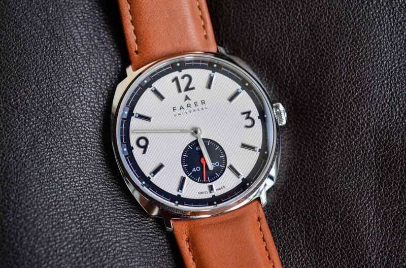 Farer Stanhope – A Classic Design and a Fun, Sophisticated Dial Give Farer's 37mm Hand-Wound a Ton of Character