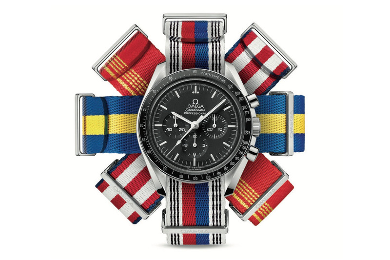 Fly your flag at the Olympic Games with Omega's NATO straps