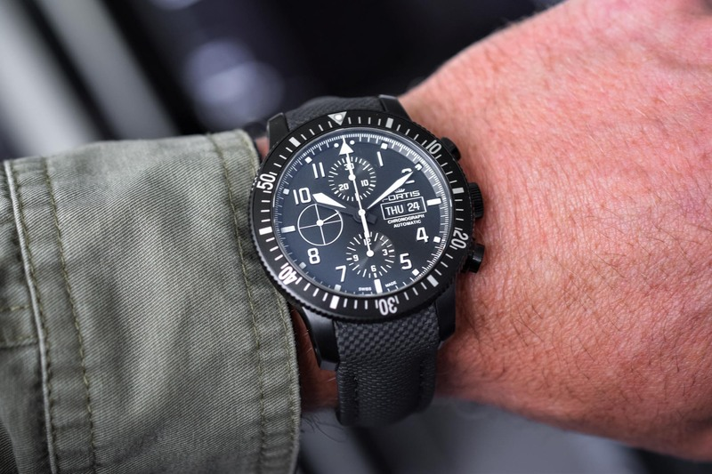 Fortis Aeromaster Mission Timer Chronograph – Cosmonaut-Approved