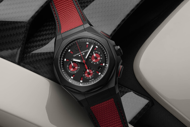 Girard-Perregaux Laureato Absolute Passion, Now in Racing Red