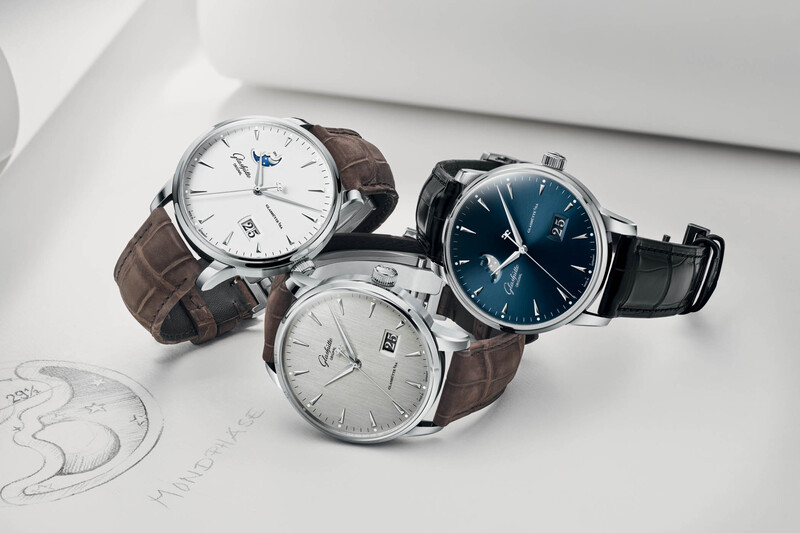 Glashütte Original Adds New Dials and Casual Styles To The Senator Excellence Collection