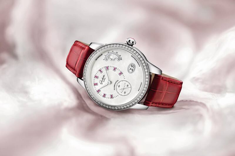 Glashütte Original PanoMatic Luna Dressed in Red – Adding a Feminine Touch to German Watchmaking