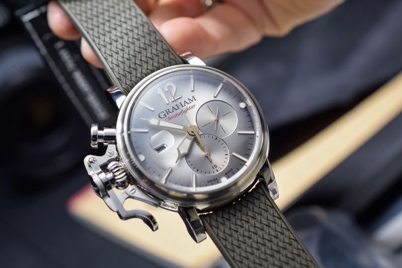Graham Chronofighter Grand Vintage – From Big to Bigger