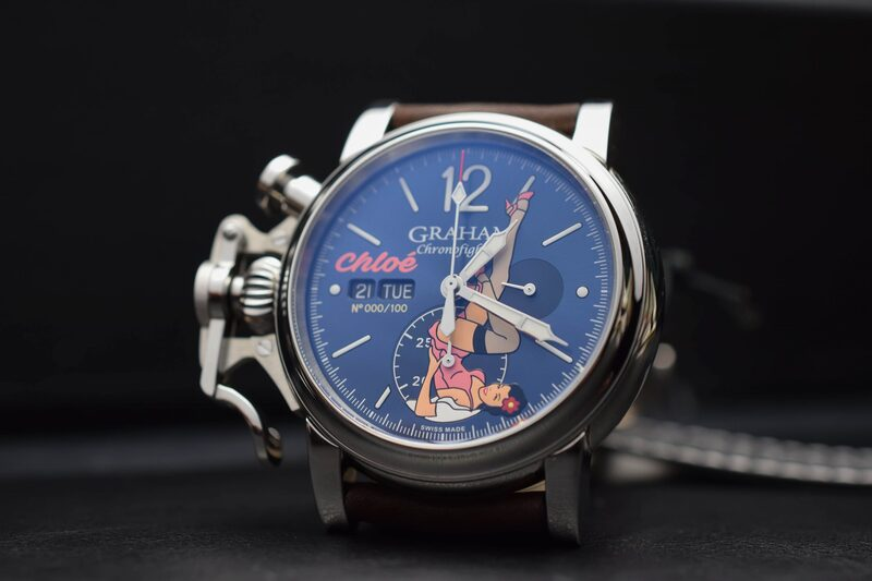 Graham Chronofighter Nose Art Limited Editions