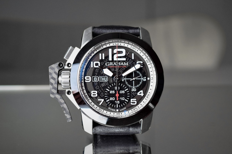 Graham Chronofighter Steel Target – A Bold, Aviation-Inspired Chronograph