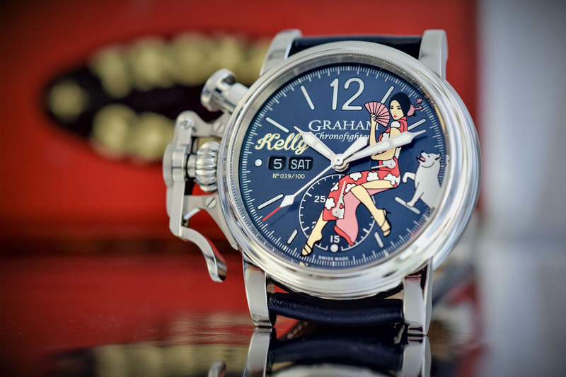 Graham Chronofighter Vintage Nose Art Ltd. Kelly, for Chinese New Year