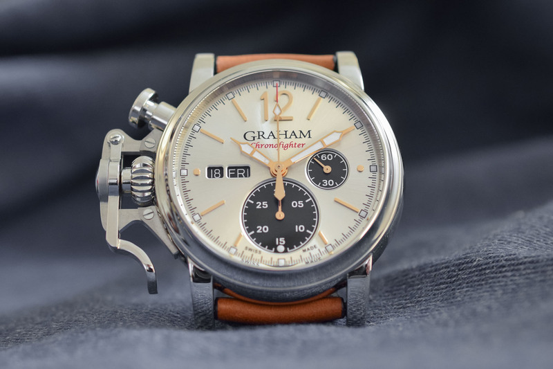 Graham's Chronofighter Vintage 2018 Collection Flies New Colours