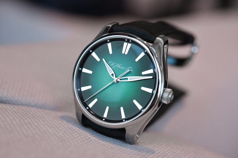 H. Moser & Cie Pioneer Centre Seconds Cosmic Green