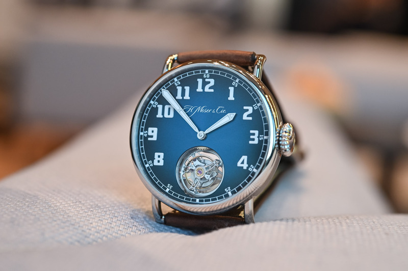 H. Moser & Cie. Heritage Tourbillon Funky Blue – Another Kind of Vintage Inspiration