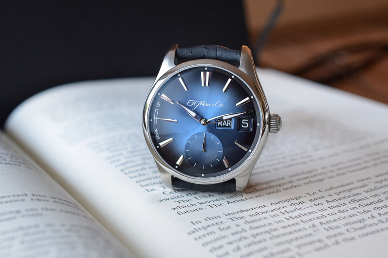 H. Moser & Cie. Pioneer Perpetual Calendar MD (with New Display)